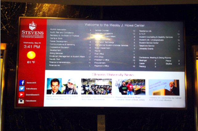 Class & Meeting directory boards