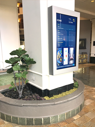 Interactive Concierge Boards