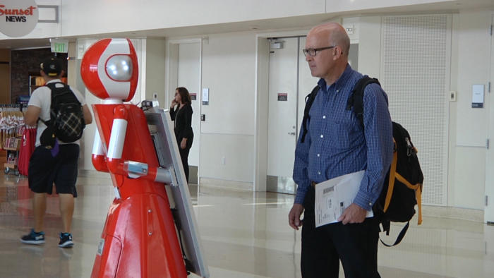 22Miles and San Jose International Airport are gathering data on how travelers interact with the service robots.