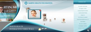 MArtin Health Video Wall