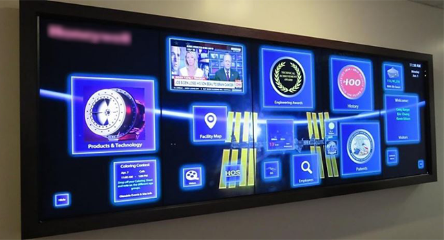 HR and Employee Recognition Displays