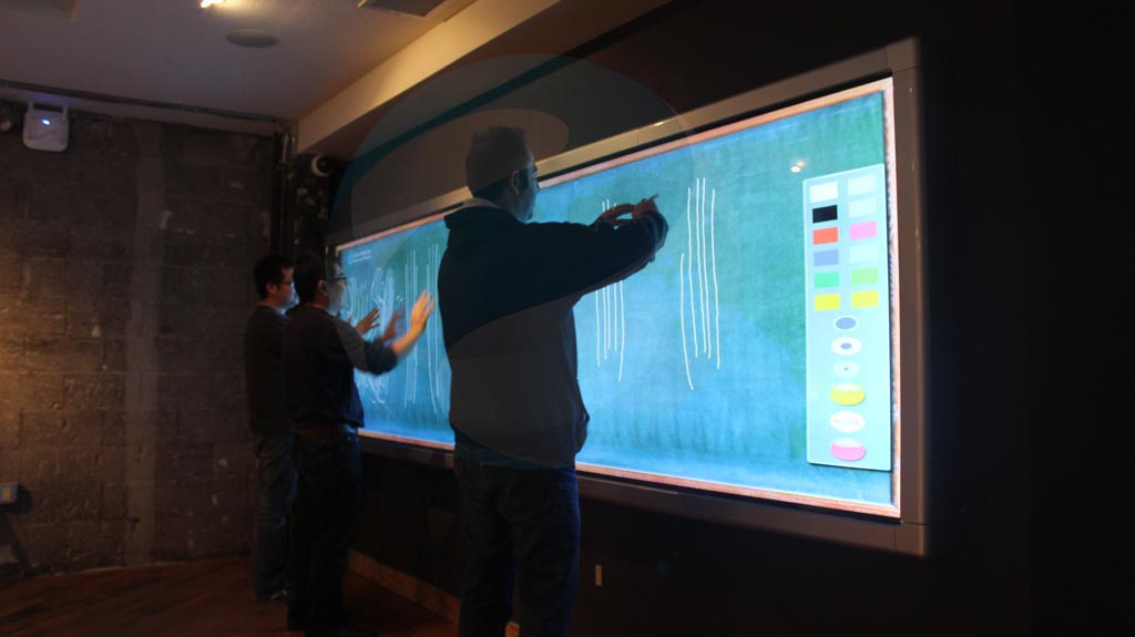 Laguna Beach Multi User Multi Touch Video Wall 22miles