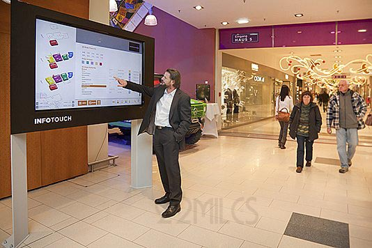 Laguna Beach Digital Touchscreen Showroom 22miles
