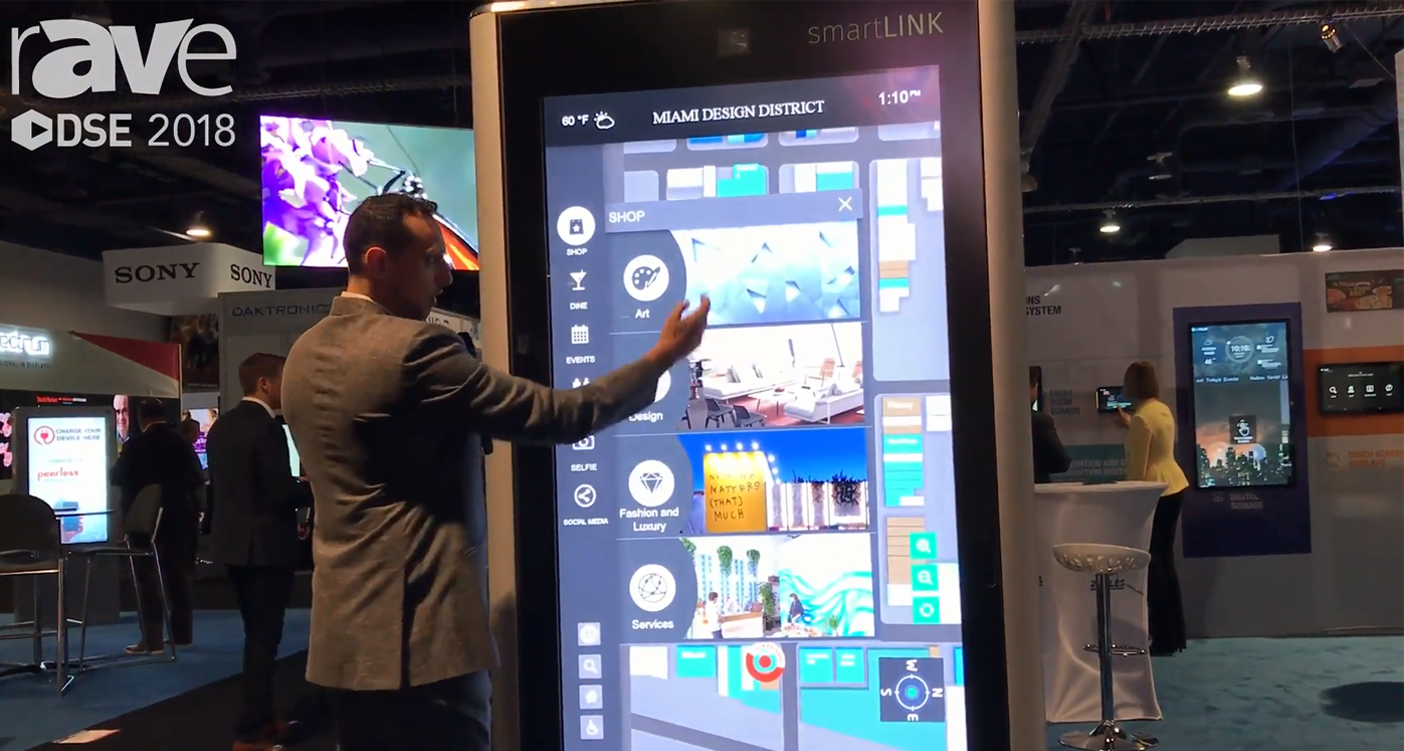 22MILES Wayfinding Partners With SmarLink, Shows Outdoor Kiosk With 3D Wayfinding