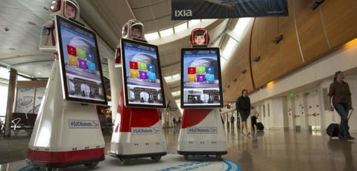 Robots Streamline Wayfinding at San Jose International Airport