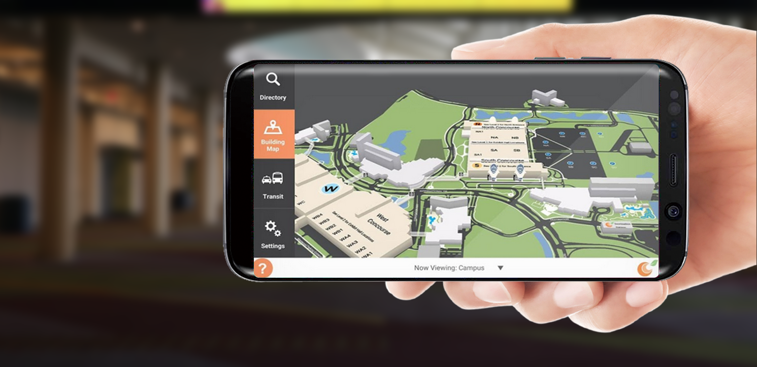 Campus Map App on