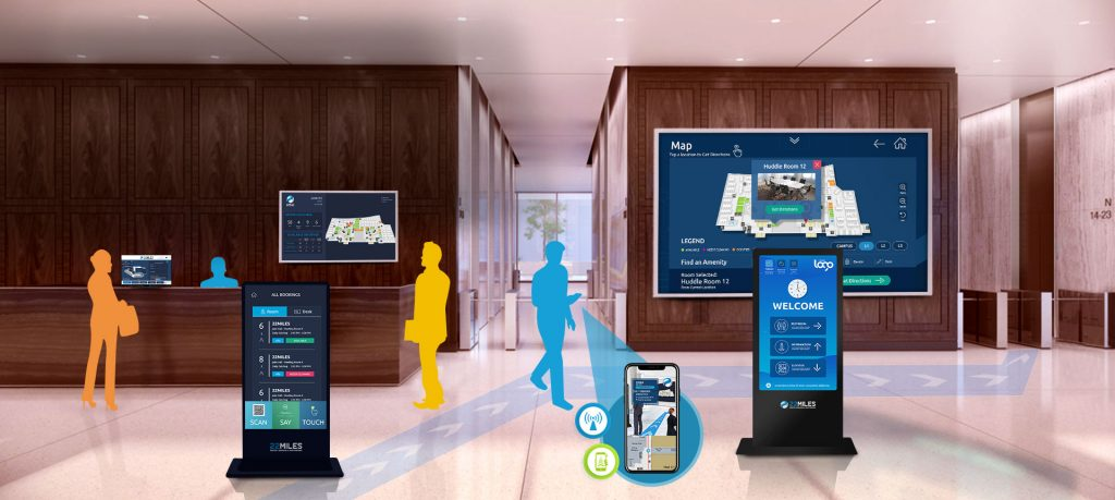 Interactive wayfinding for colleges